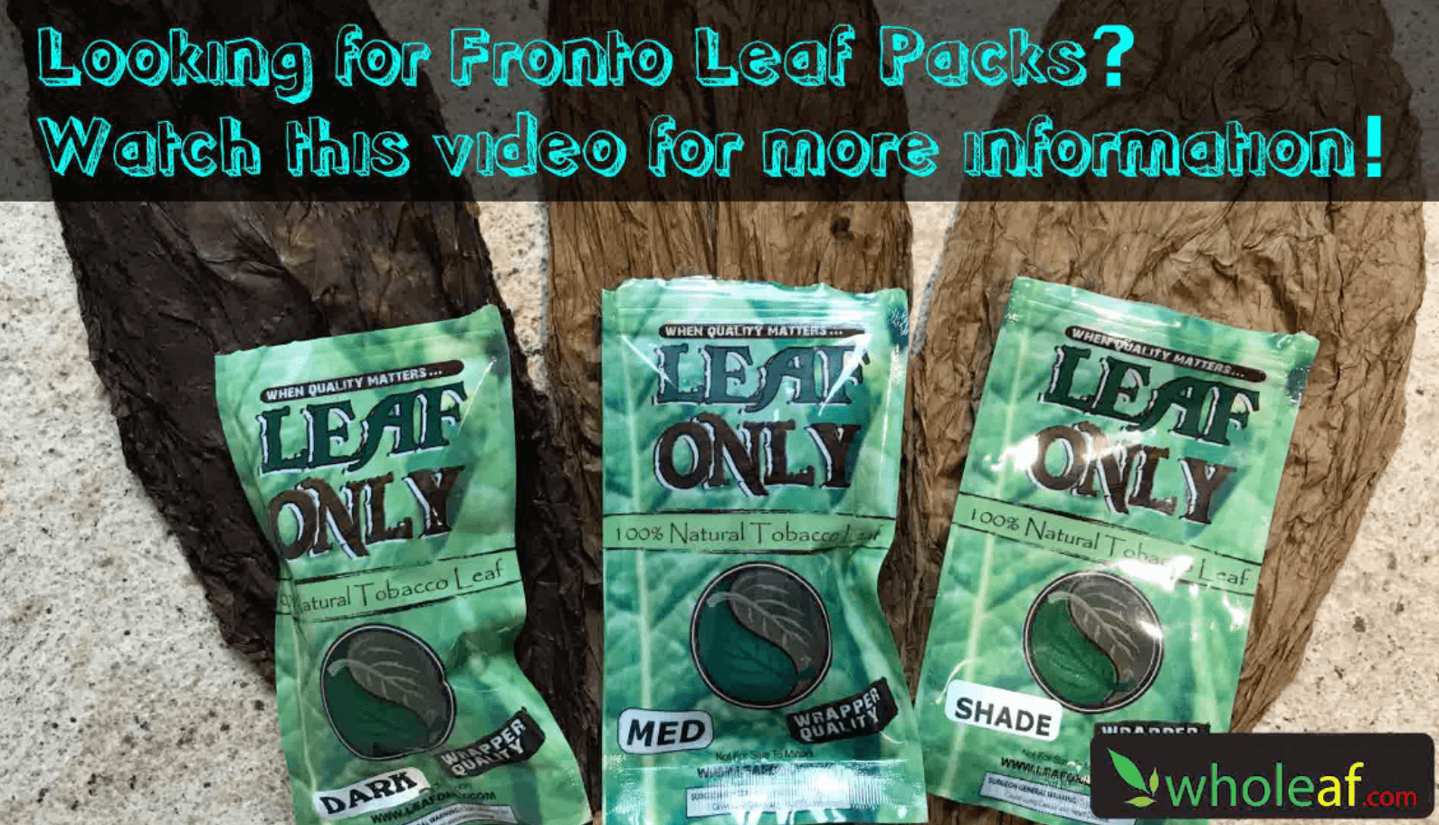 Fronto Leaf Packs For Your Store Shelves!